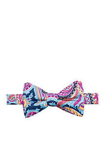 Aurora Paisley Bow Tie