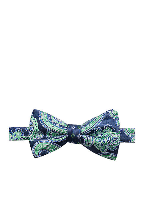 Saddlebred® Aiden Paisley Bow Tie
