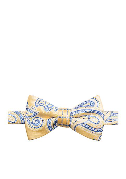 Saddlebred® Aiden Paisley Bow Tie