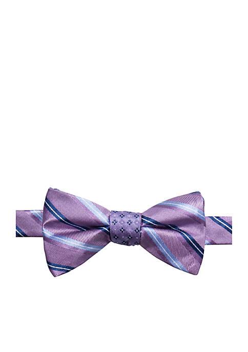 Andrew Stripe Bow Tie