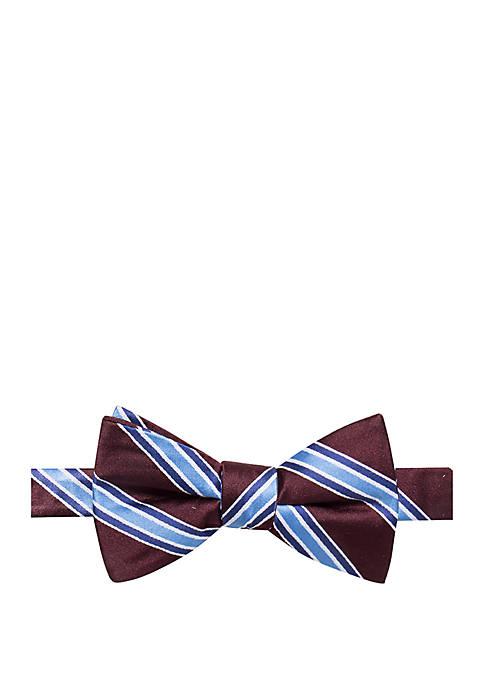 Broc Stripe Bow Tie