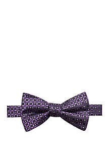 Wilton Medallion Print Bow Tie