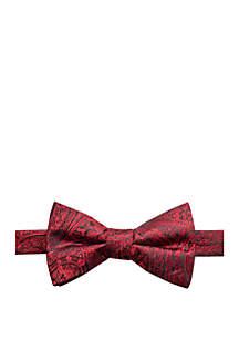Paisley Print Bow Tie