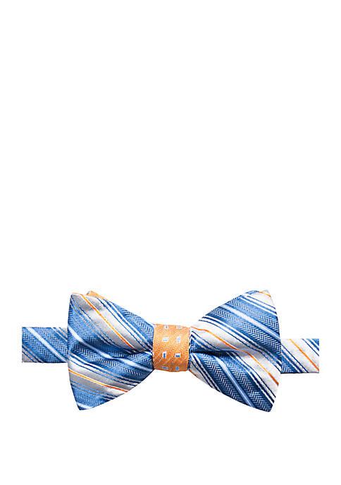 Warley Stripe Bow Tie