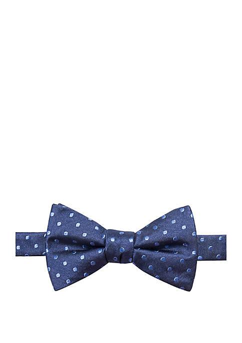 Knoll Dot Print Bow Tie