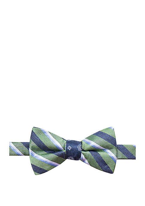 Saddlebred® Hamilton Contrast Bow Tie