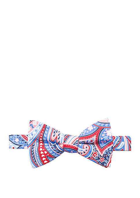 Haven Paisley Print Bow Tie