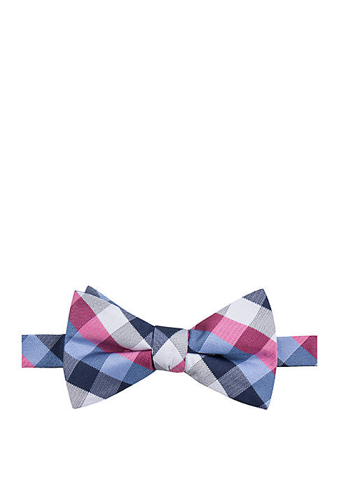 Saddlebred® Clearly Check Bow Tie