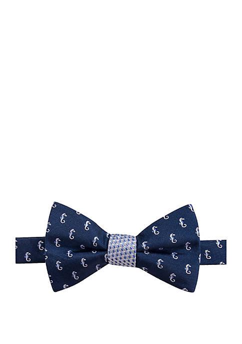 Seahorse Solid Bow Tie