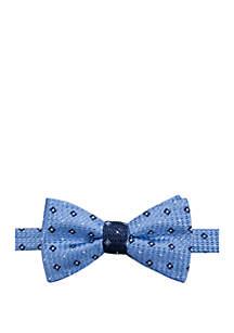 Saddlebred® Corbin Neat Contrast Bow Tie