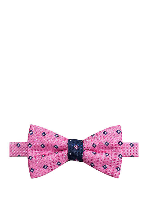 Saddlebred® Corbin Neat Contrast Bow Tie