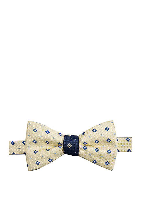 Corbin Neat Contrast Bow Tie