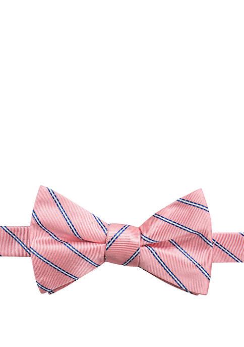 Maddox Stripe Bow Tie