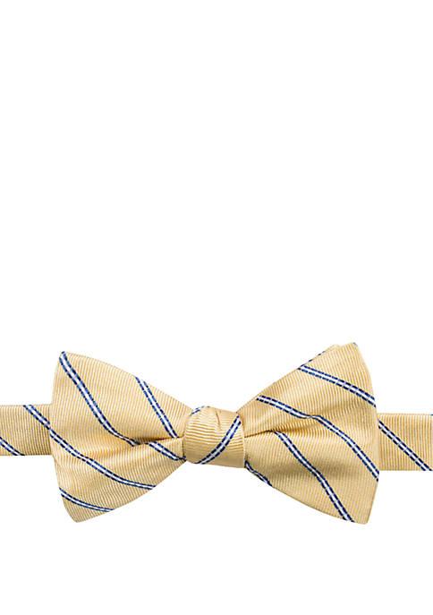 Saddlebred® Maddox Stripe Bow Tie