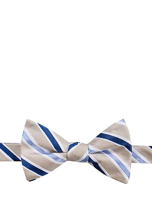 Manolito Stripe Bow Tie