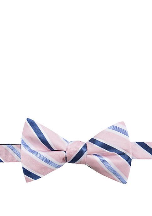 Saddlebred® Manolito Stripe Bow Tie