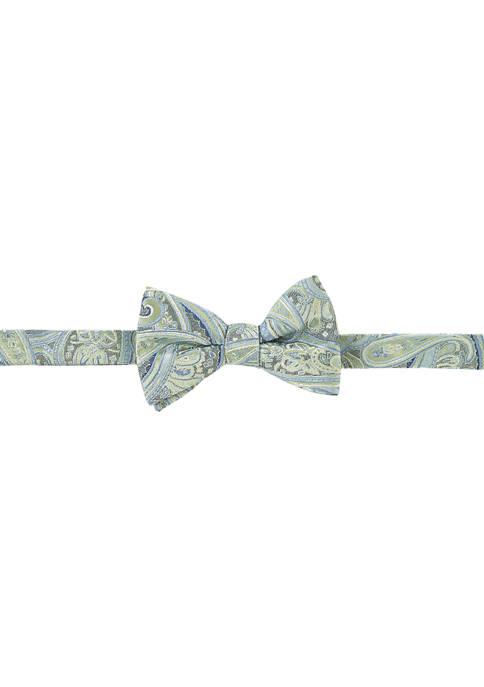 Paisley Silk Bowtie