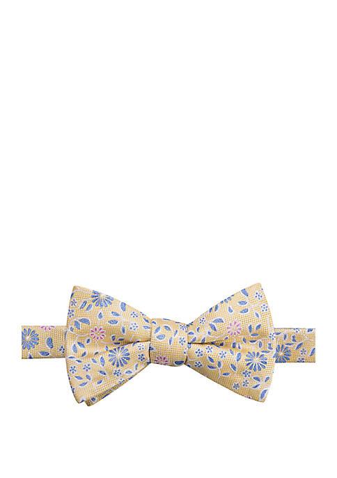 Barley Floral Bow Tie