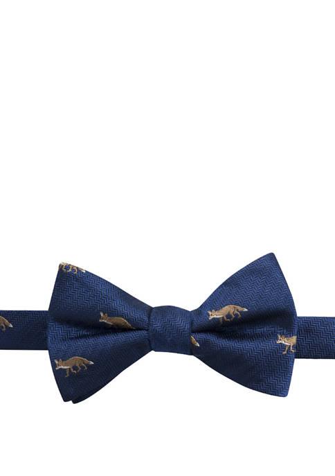 Saddlebred® June Fox Pattern Bow Tie
