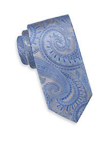 Extra Long Kalib Paisley Tie