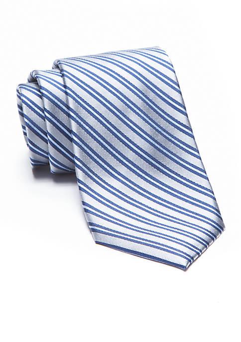 Darby Stripe Extra Long Tie