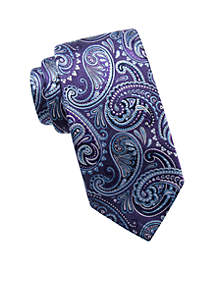 Big & Tall Extra Long Jules Paisley Tie