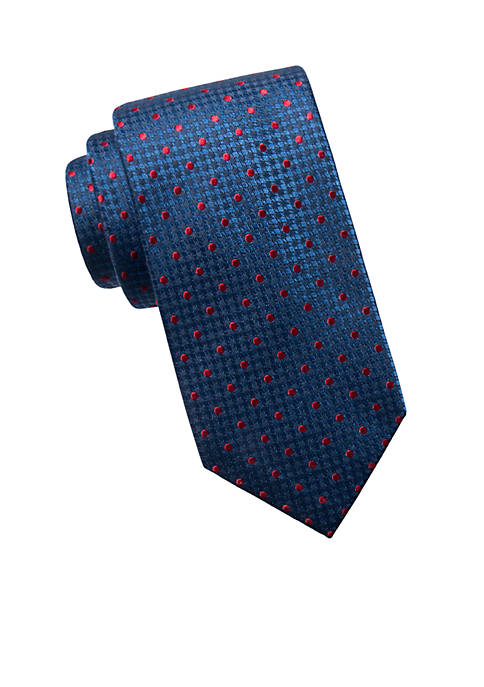 Big & Tall Extra Long Jersey Dot Tie