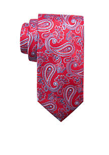 Big & Tall Extra Long Corden Paisley Tie