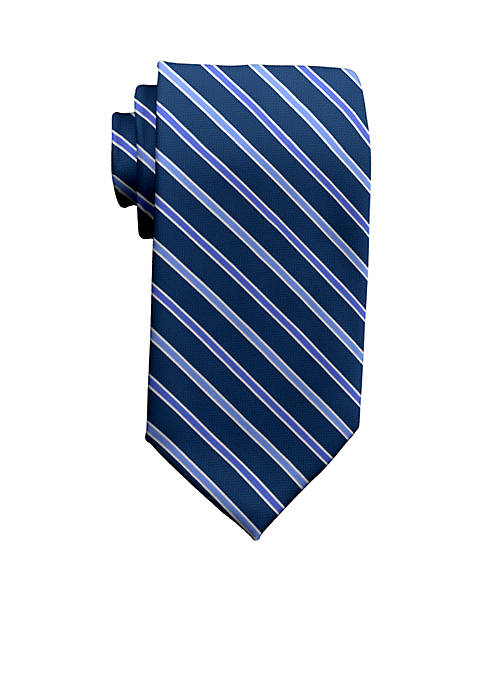 Saddlebred® Extra Long Carter Stripe Tie