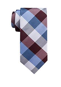 Saddlebred® Big & Tall Aaron Check Tie