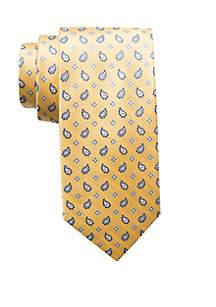 Hasani Paisley Print Neck Tie