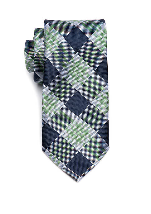 Saddlebred® Big & Tall Basel Plaid Extra Long