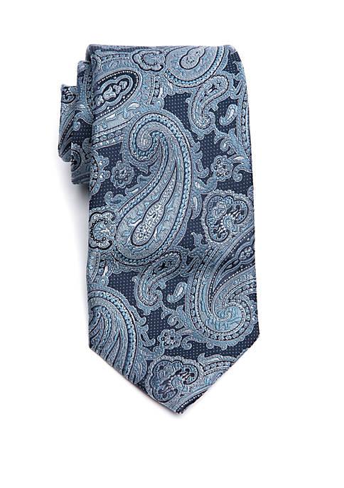 Big & Tall Paisley Extra Long Tie