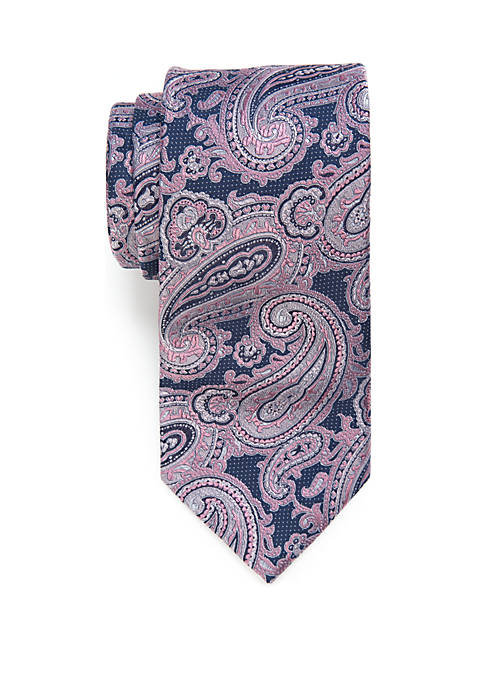 Big & Tall Paisley Extra Long Tie