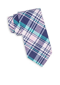 Saddlebred® Extra Long Sea Andre Madras Tie