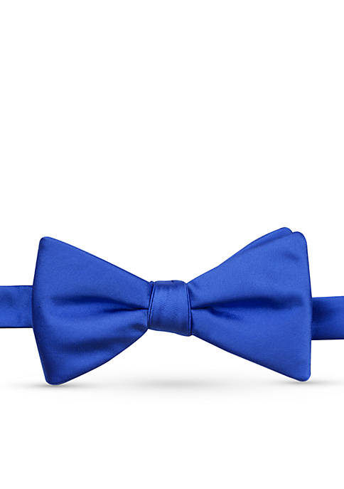 Satin Solid Bow Tie
