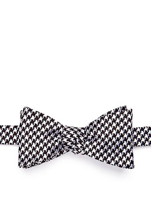Saddlebred® Bear Houndstooth Bow Tie