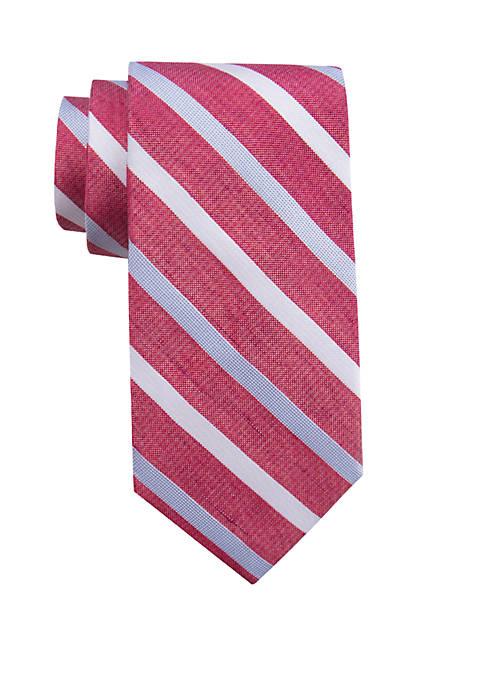 Big & Tall Extra Long Cardiff Stripe Tie