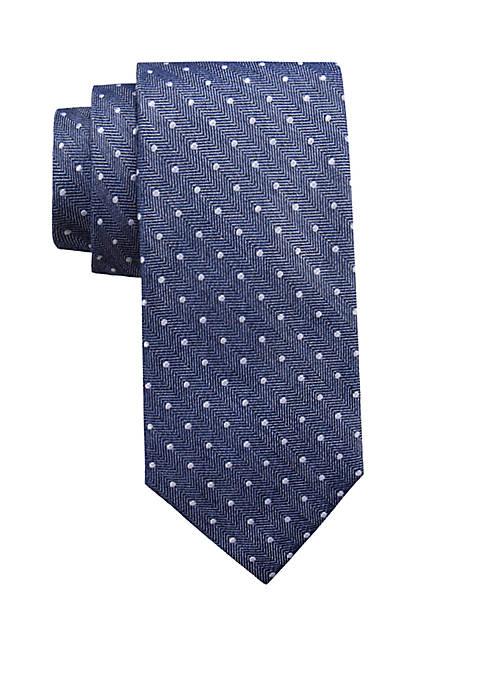 Extra Long Dundee Dot Tie