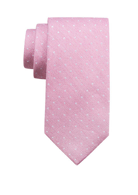 Crown & Ivy™ Extra Long Dundee Dot Tie