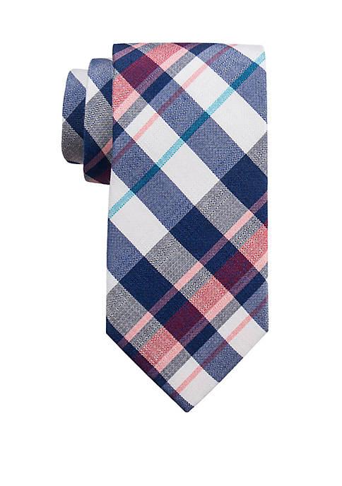 Extra Long Bolton Plaid Tie