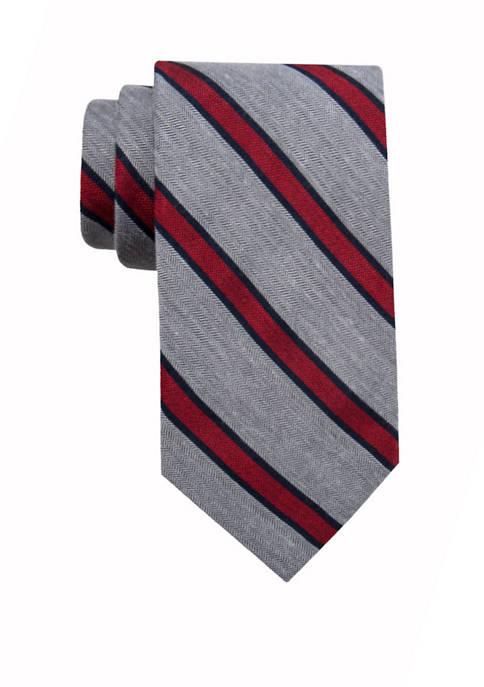 Crown & Ivy™ Holiday Corner Stripe XL Tie