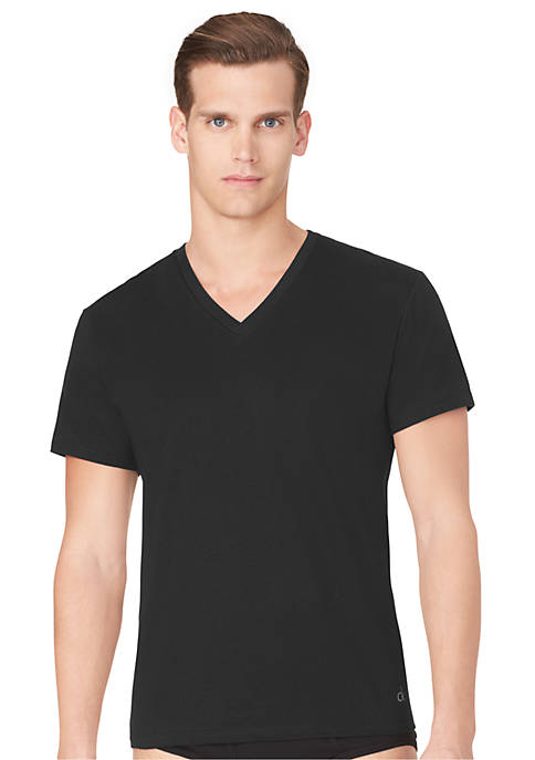 Calvin Klein 3-Pack Classic V-Neck Tee Shirts