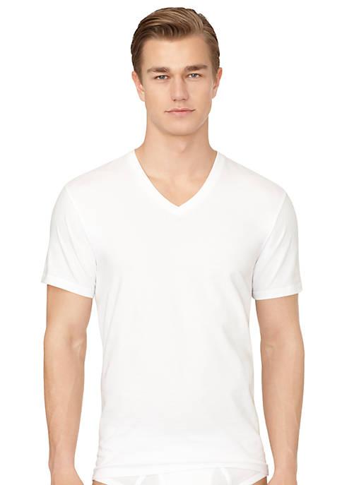 3-Pack Classic V-Neck Tee Shirts