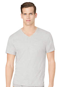 3-Pack Classic V-Neck Tee Shirts