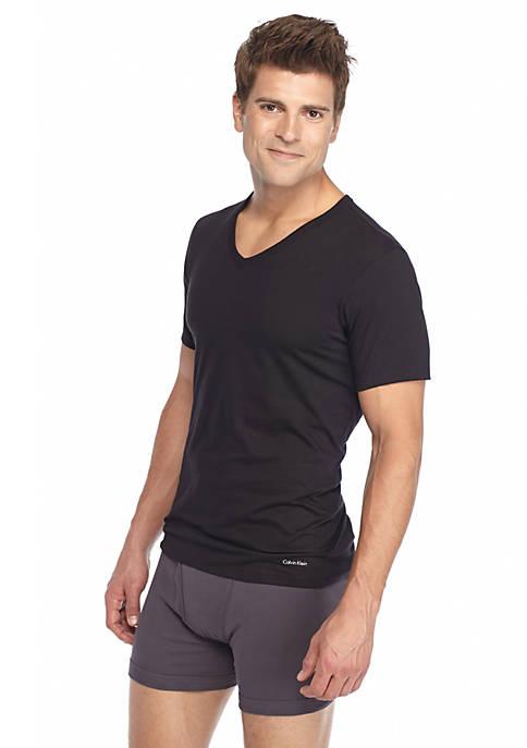 Calvin Klein Slim Fit V-Neck Tee