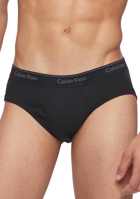 Calvin Klein Mens Cotton Classics New Hip Briefs