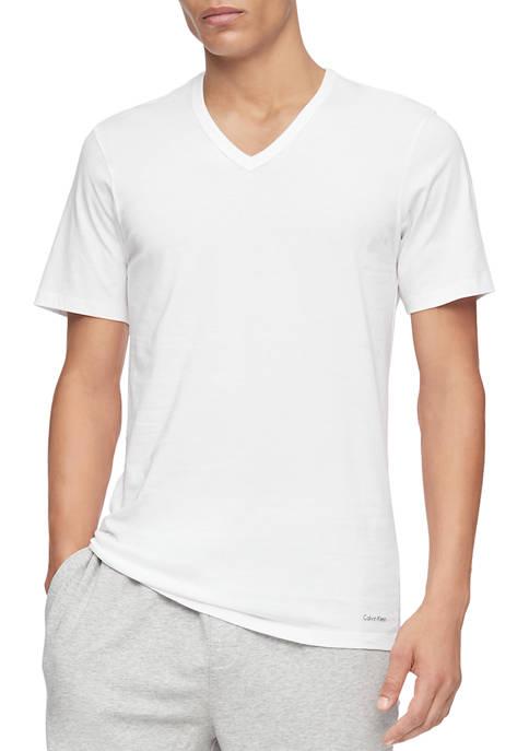 Calvin Klein Mens Cotton Classics New Short Sleeve