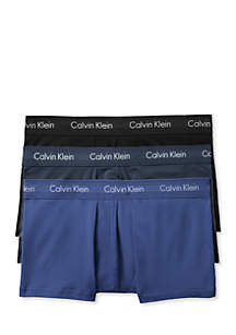 Calvin Klein Cotton Stretch Low Rise Trunk - 3 Pack
