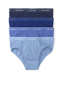 4-Pack Classic-Fit Low Rise Briefs